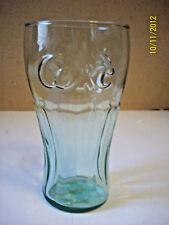 Green Coca Cola 16 oz glass