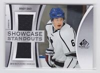 19/20 SP GAME USED...BRADY SKJEI...SHOWCASE STANOUT...CARD # SS-BS...RANGERS
