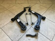 FIAT PANDA 03-12 TWO FRONT WISHBONE SUSPENSION ARMS 2 TRACK ENDS 2 DROP LINKS
