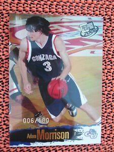 ADAM MORRISON 2006 Press Pass #45 Rookie-Card RC Checklist Reflector, #d 006/100