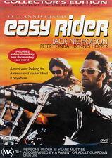 Easy Rider - Drama / Adventure / Classic - Jack Nicholson, Peter Fonda - NEW DVD