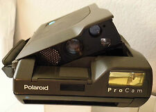 Polaroid Film Camera- ProCam Pro Cam Spectra with Built in Flash & Strap TESTED