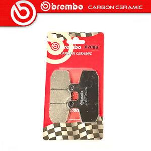 Pastiglie Freno Brembo Carbon Ceramic Anteriori per GILERA XR1 125 125 1988 >