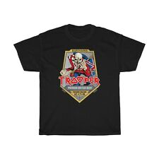 Iron Maiden Trooper Unisex Heavy Cotton T-Shirt Size S to 2XL