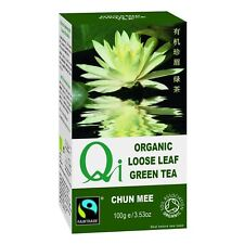 Qi Organic Fairtrade Loose-leaf Chun Mee Tea - 100g