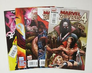 Marvel Zombies 4 Issue 1-4 Full Run Complete Set Marvel Comics Limited Series