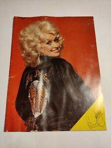 VTG Retro Dolly Parton Programme Booklet Leaflet 70s Heartbreaker 1978