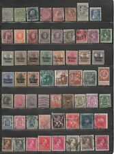 Belgium Early Stamp Collection - 100 Different Stamps (Lot Belgium 8)