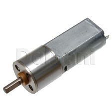 12V DC 200 RPM High Torque Sealed Gearbox Electric Motor
