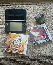 Nintendo 3ds XL with pokemon sun and Y