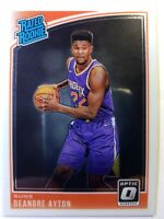 2018 18 Panini Donruss Optic Rated Rookie Deandre Ayton RC #157, Phoenix Suns