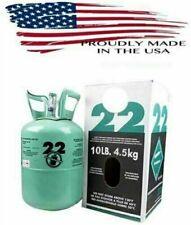 R22 R-22 R 22 Refrigerant 10lb Cylinder (Made in USA) Sealed HVAC