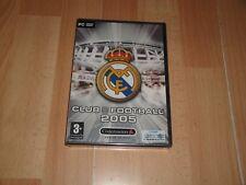 REAL MADRID CLUB FOOTBALL 2005 DE CODEMASTERS PARA PC NUEVO PRECINTADO