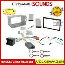 Double Din CD Stereo Fitting Kit, Fascia Stalk For VW Transporter