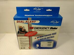 Sky Link Technologies Dial-Alert Emergency Dialer alert System ED-100 hd633