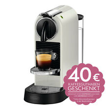 DeLonghi EN 167.W Nespressoautomat Citiz Weiß Kapselmaschine Kaffeautomat
