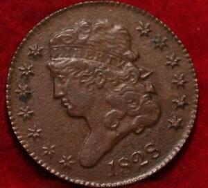 1828 Philadelphia Mint Copper Classic Head Half Cent