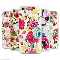 Vintage Floral Hard Shell Case Shabby Pastoral Flower Cover For iPhone 5 5S 5C 6