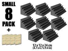 """Arrowzoom Corner Bass Trap Acoustic Foam Sound Treatment 4.7*4.7*9.4"""" 8 pcs Pack"""