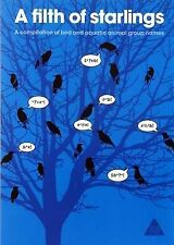 A Filth of Starlings:a compilation of bird and aquatic animal group names: 1, Pa