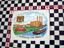 VW Wolfsburg Factory Sticker de vitre - BEETLE camping-car écran divisé type 2
