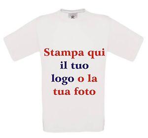 T-shirt/maglietta maniche corte personalizzata con foto, scritta stampa diretta