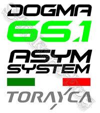 ADESIVO  LOGO PINARELLO DOGMA 61.5 ASYM SYSTEM - TORAYCA