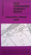 Old Ordnance Survey  Map Caerphilly West  Glamorgan 1937 Sheet 37.01 Brand New
