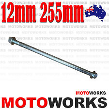 12mm 255mm Swing Arm Front Rear Axle PIT PRO Trail Dirt Bike QUAD ATV Gokart