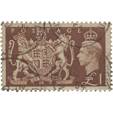 Great Britain 1951 (Used) £1 High Value Festival Definitive