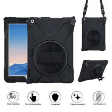 "Screen Film + iPad Case 9.7"" iPad 6th 2018 Shockproof Military Heavy Duty Cover"