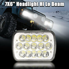 7x6'' H6054 12V Waterproof LED Headlight Headlamp High / Low Beam Truck