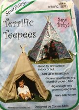 Sew Baby F876 Terrific TeePees Childs Play Rooms Crafts Toys Sewing Pattern