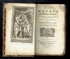 Les Oeuvres d'Alexis Piron - 2 Tomes - Merkus & Arckstée - Amsterdam - 1766