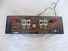 Yamaha P2100 amplifier back plate with components
