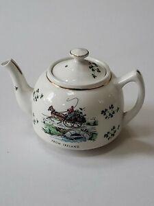 Vintage Carrigaline Pottery Co Ireland Mini Teapot