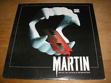 Music By Donald Rubinstein ‎– George A. Romero's Martin Soundtrack LP New Sealed