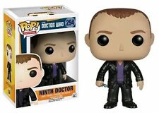 "Doctor Who 9th Ninth Dr 294 Funko Pop Vinyl 3.75"" Figure Television"