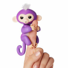 Perfect Valentine's Day & Birthday Gift Fingerlings Baby Monkey Toy Purple Mia