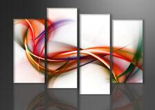 Images sur toile sur cadre 130 x 80 cm abstrait art pret a accrocher 6159