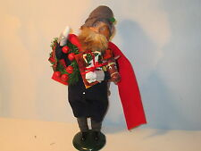 Byers Choice Retired 1996 Exclusive Talbots Portly Shopping Man