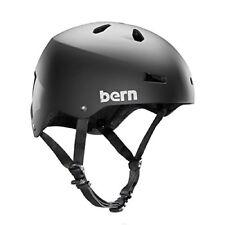 Bern Macon Cycling/Skate Helmet (Matte Black / XXLarge Size)