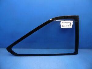 86-89 Integra OEM rear Right side quarter panel body corner window glass 2 door