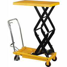 Pake Handling Tools - Double Scissor Lift Table, 275 lbs, 33