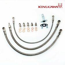 Kinugawa For NISSAN RB30 Turbo Oil Water Line Garrett GT3076R GT3582R Low Mount