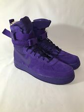 "Nike SF Air Force 1 Men's Size 10 ""Court Purple"" CRT PRPL/CRT PRPL (864024-500)"