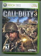 Call Of Duty 3  (Xbox 360, 2006)