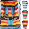 WR_ Fantastic Waterproof Baby Kids Car Seat Liner Padding Pram Stroller Cushion