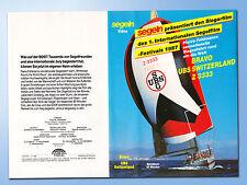 Bravo UBS Switzerland Z 3333 Pierre Fehlmann RACE Regatta WELTUMSEGELUNG segeln