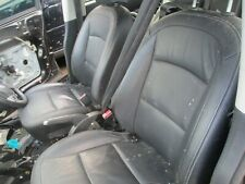 Nissan Qashqai j10 Leather seats front + rear black 2007 - 2013
